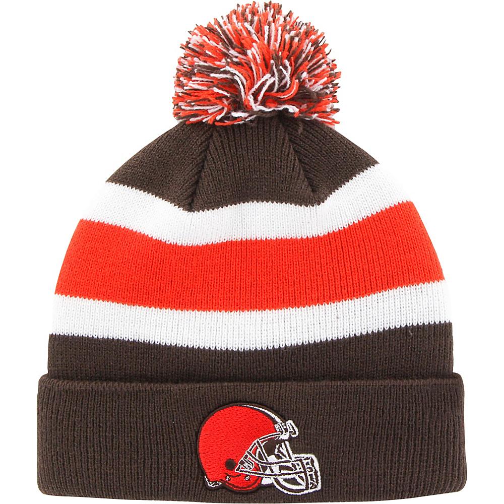Fan Favorites Breakaway Beanie with Pom Cleveland Browns Fan Favorites Hats Gloves Scarves