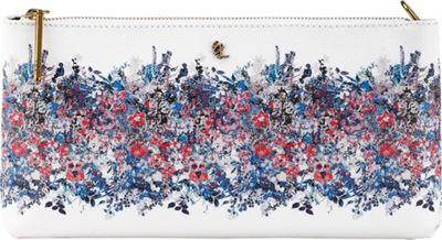 Elliott Lucca 3-Way Demi Clutch Denim Bouquet - Elliott Lucca Designer Handbags