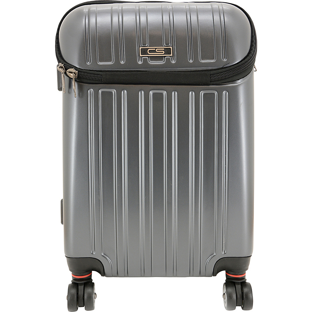 Carbon Sesto Eclipse Roller Carry-On Space Grey - Carbon Sesto Softside Carry-On