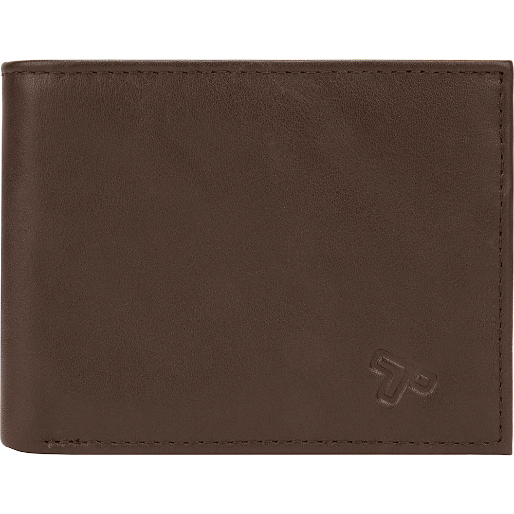 Travelon Safe ID Classic Billfold Wallet Brown - Travelon Mens Wallets - Work Bags & Briefcases, Men's Wallets
