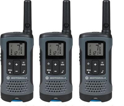 Motorola Solutions Talkabout T200TP Radio - 3 Pack Grey - Motorola Solutions Electronic Accessories
