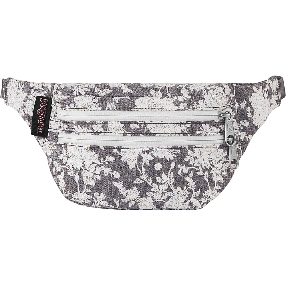 JanSport Hippyland Waistpack Grey Heathered Floral - JanSport Waist Packs