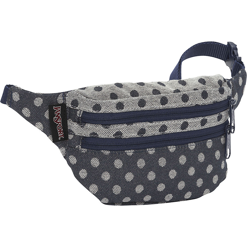 JanSport Hippyland Waistpack Navy Twiggy Dot Jacquard - JanSport Waist Packs - Backpacks, Waist Packs