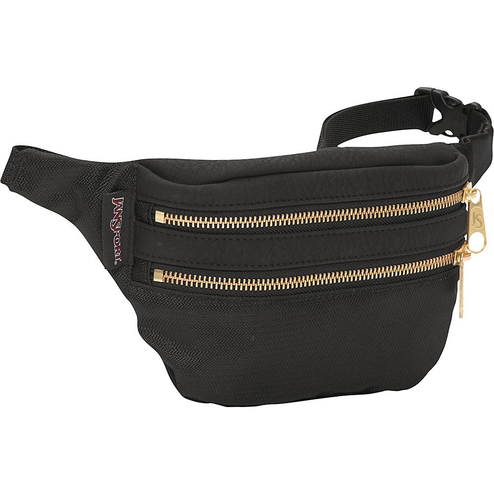 JanSport Hippyland Waistpack Black / Gold - JanSport Waist Packs - Backpacks, Waist Packs