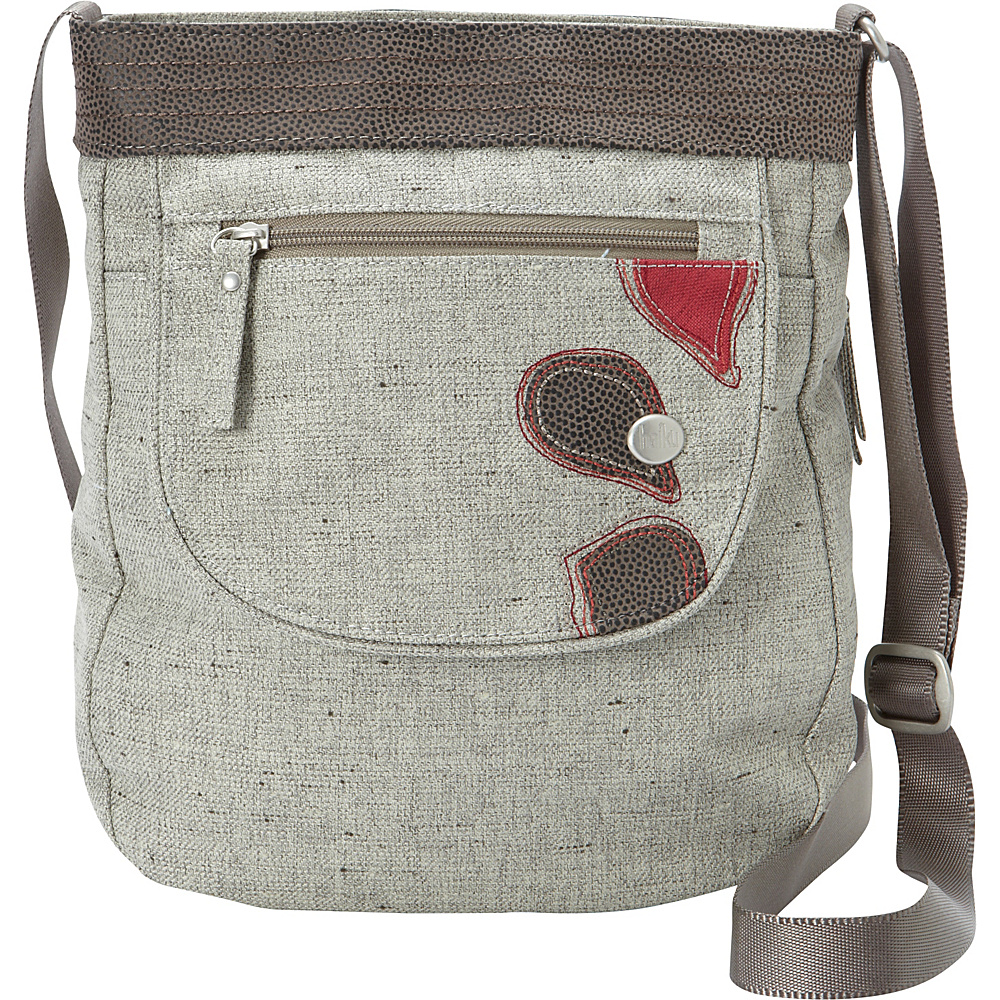 Haiku Jaunt Crossbody Mushroom Haiku Fabric Handbags