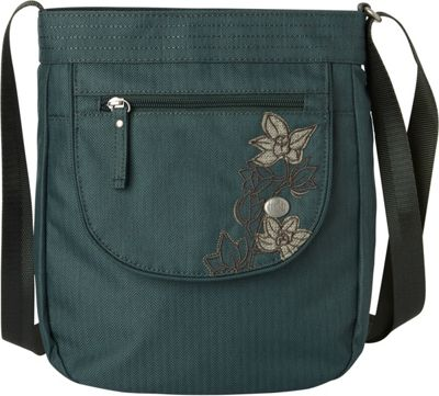 Haiku Jaunt Crossbody Balsam Green - Haiku Fabric Handbags