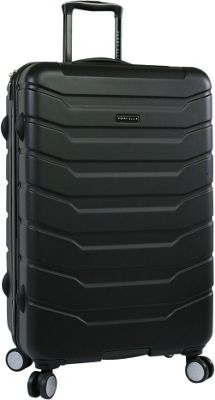 Perry Ellis Traction Hardside 29 inch Spinner Luggage Black - Perry Ellis Hardside Checked