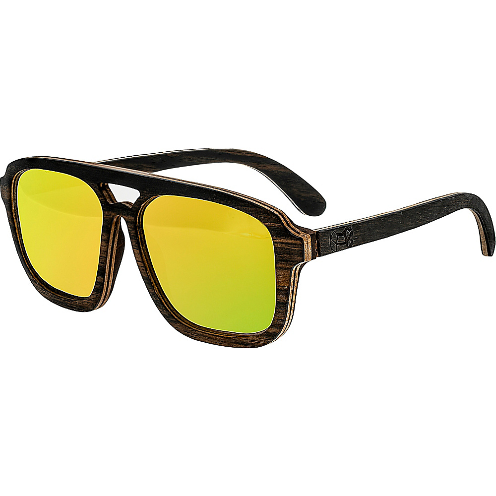 Earth Wood Playa Wood Sunglasses Brown Earth Wood Sunglasses