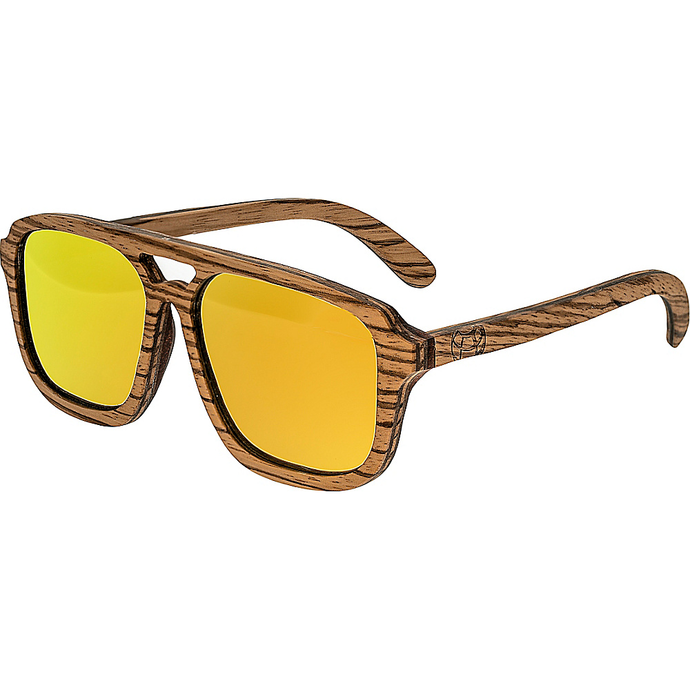Earth Wood Playa Wood Sunglasses Beige Earth Wood Sunglasses