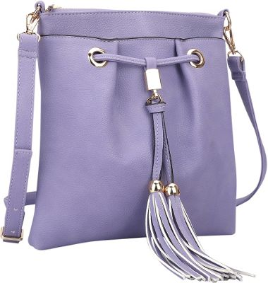 dasein crossbody bag with fringe details 5 colors cross