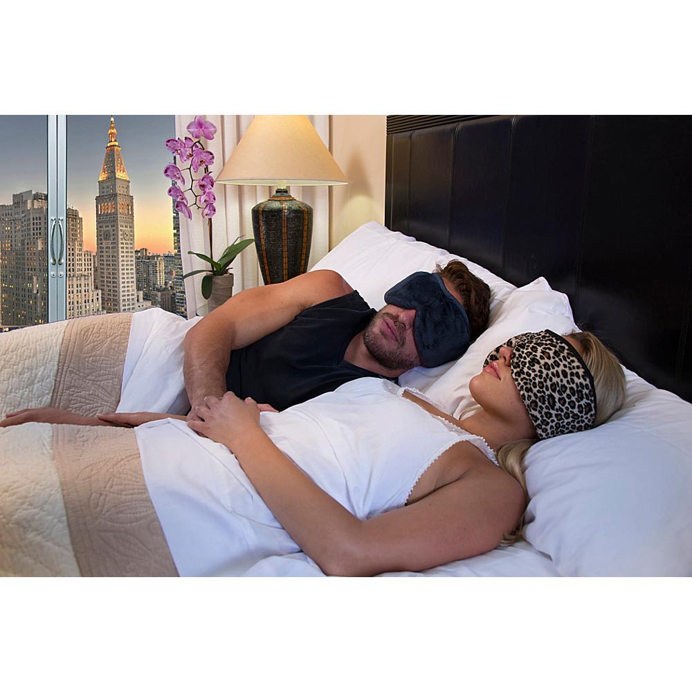 Dandelion Dreams Inc Luxury Sleep Mask Wild Leopard - Dandelion Dreams Inc Travel Health & Beauty