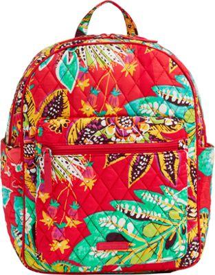 Vera Bradley Leighton Backpack Rumba - Vera Bradley Fabric Handbags