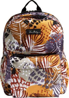 Vera Bradley Lighten Up Grande Laptop Backpack - Retired Prints Painted Feathers - Vera Bradley Business & Laptop Backpacks