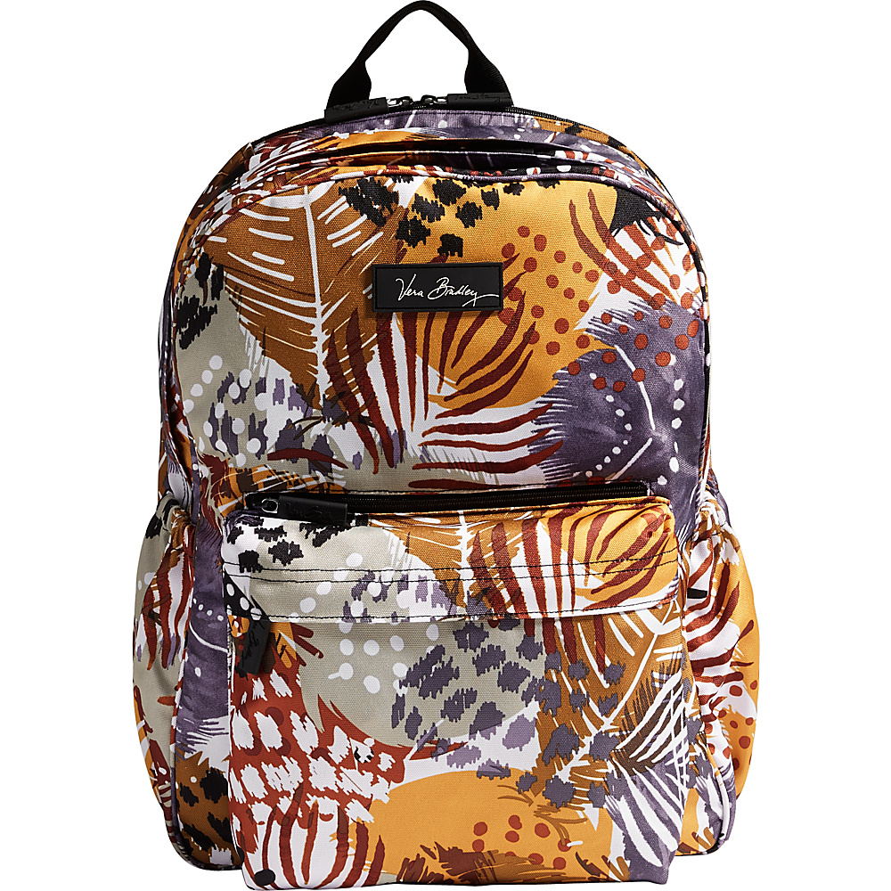 Vera Bradley Lighten Up Grande Laptop Backpack Painted Feathers Vera Bradley Business Laptop Backpacks