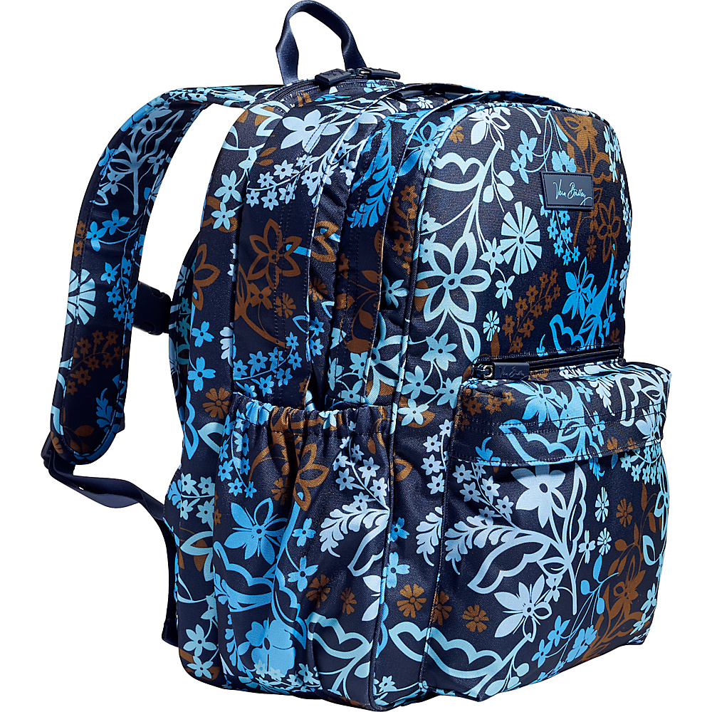 Vera Bradley Lighten Up Grande Laptop Backpack Java Floral Vera Bradley Business Laptop Backpacks