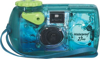 Fujifilm One-Time-Use Underwater 35mm Camera Blue - Fujifilm Cameras
