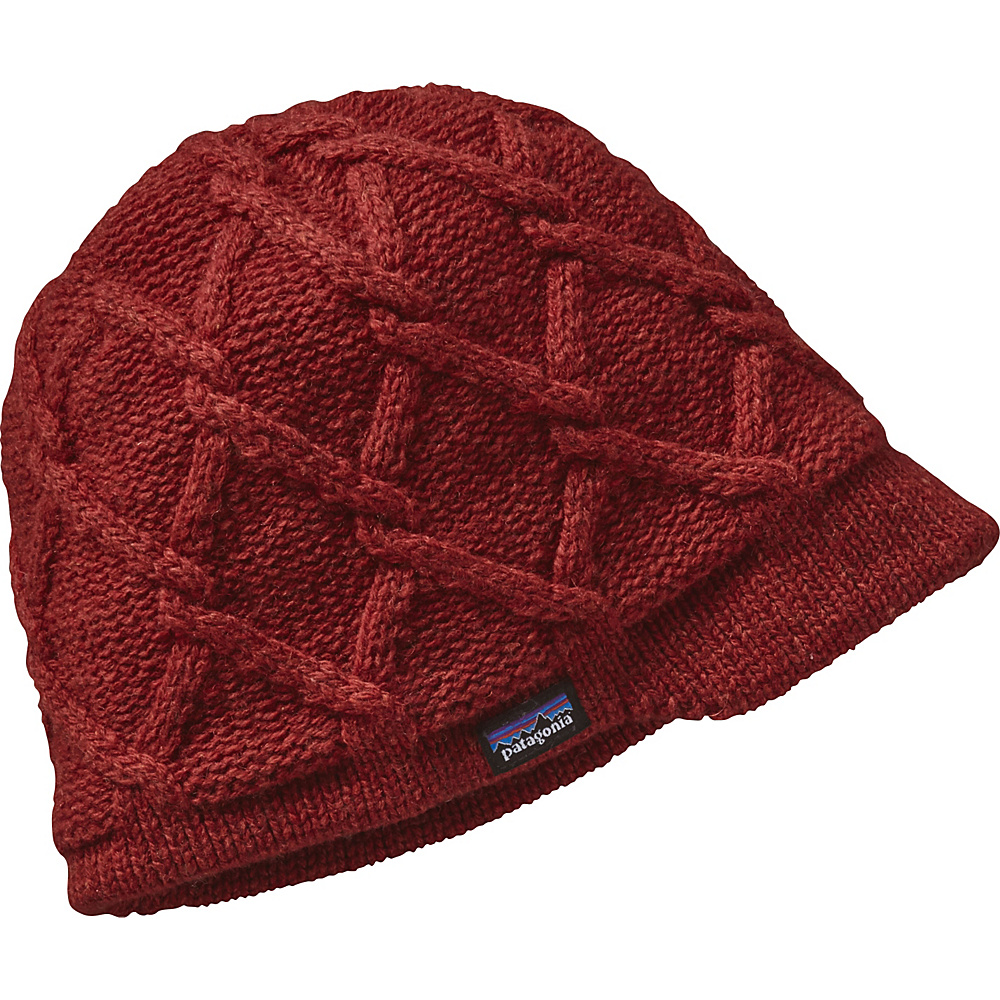 Patagonia Ws Vanilla Beanie One Size - Cinder Red - Patagonia Hats/Gloves/Scarves - Fashion Accessories, Hats/Gloves/Scarves