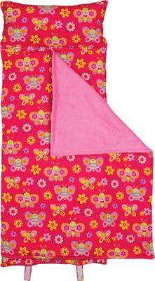 Stephen Joseph Nap Mat All-Over Print Butterfly - Stephen Joseph Travel Pillows & Blankets