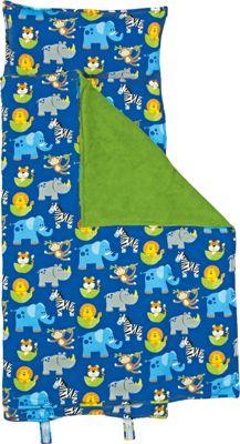 Stephen Joseph Nap Mat All-Over Print Zoo - Stephen Joseph Travel Pillows & Blankets
