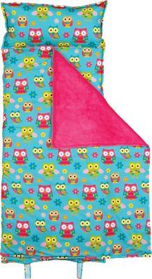Stephen Joseph Nap Mat All-Over Print Owl - Stephen Joseph Travel Pillows & Blankets