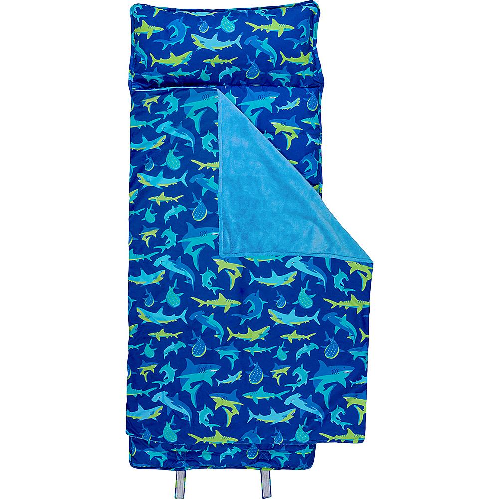 Stephen Joseph Nap Mat All-Over Print Shark - Stephen Joseph Travel Pillows & Blankets - Travel Accessories, Travel Pillows & Blankets