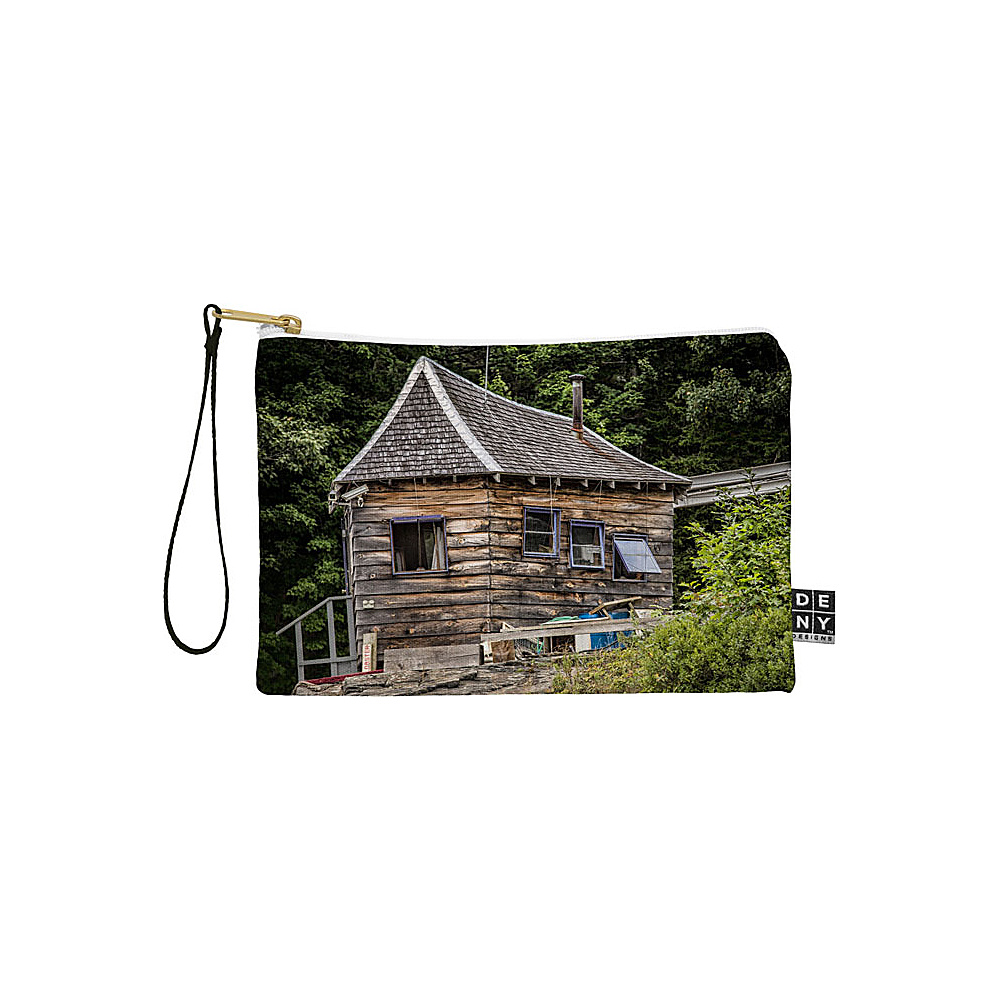 DENY Designs Barbara Sherman Pouch Wood Lobster Shack DENY Designs Travel Wallets