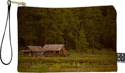DENY Designs Barbara Sherman Pouch Wood - Peaceful Ranch - DENY Designs Travel Wallets