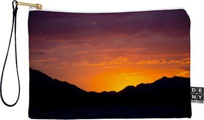 DENY Designs Barbara Sherman Pouch Sunset Orange - Sunset Glory - DENY Designs Travel Wallets