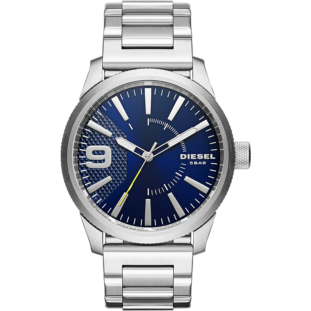 Diesel Watches Rasp Stainless Steel Watch Silver Diesel Watches Watches