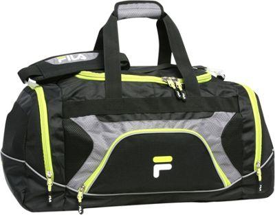 Fila Donlon Large Gym Duffel Bag Neon Lime - Fila Gym Duffels