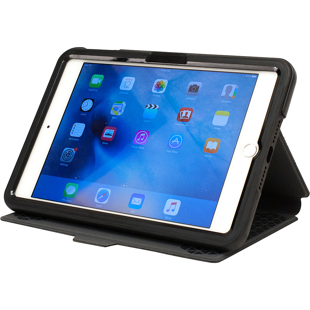 M Edge Flip Folio for iPad Mini 4 Black M Edge Electronic Cases