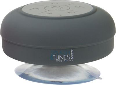 FRESHeTECH Splash Tunes Pro Bluetooth Shower Speaker Grey - FRESHeTECH Headphones & Speakers 10463061
