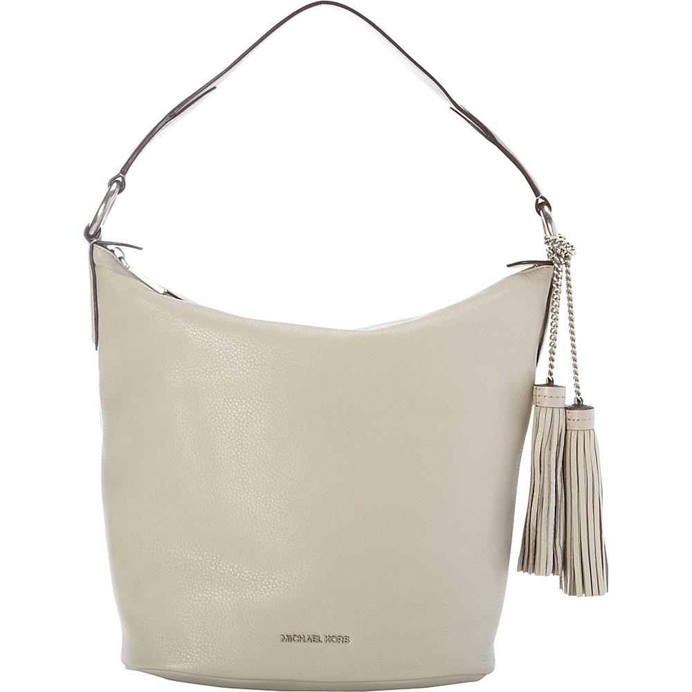 MICHAEL Michael Kors Elana Large Convertible Shoulder Cement - MICHAEL Michael Kors Designer Handbags