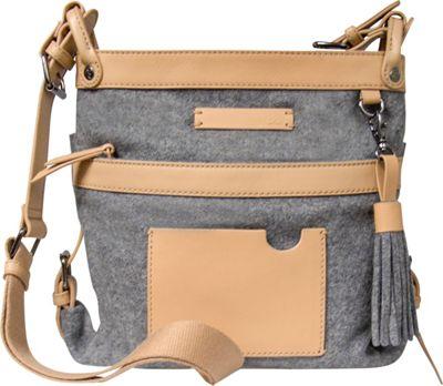 Sherpani Luna Wool Crossbody Chai - Sherpani Fabric Handbags