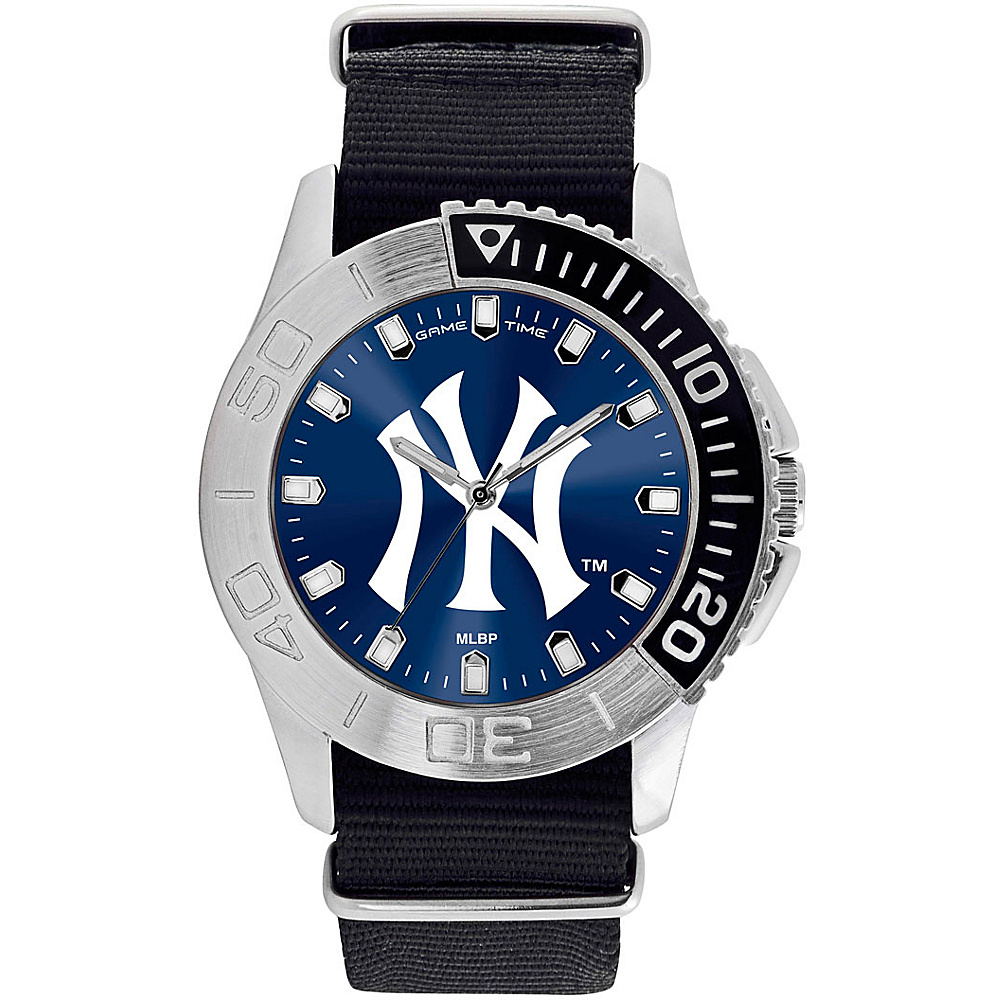 Game Time Mens Starter-MLB Watch New York Yankees NY Logo - Game Time Watches - Fashion Accessories, Watches
