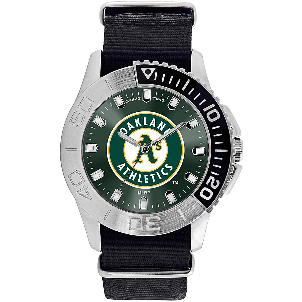 Game Time Mens Starter-MLB Watch Oakland Athletics - Game Time Watches - Fashion Accessories, Watches