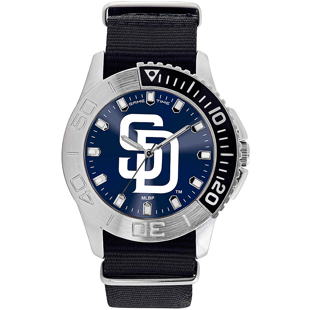 Game Time Mens Starter-MLB Watch San Diego Padres Beast - Game Time Watches - Fashion Accessories, Watches