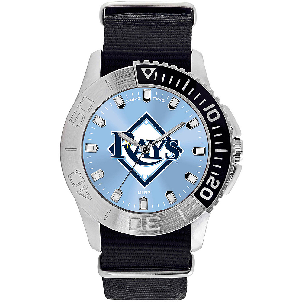 Game Time Mens Starter-MLB Watch Tampa Bay Rays - Game Time Watches - Fashion Accessories, Watches