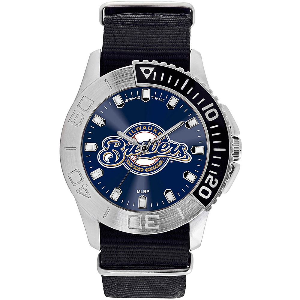 Game Time Mens Starter-MLB Watch Milwaukee Brewers - Game Time Watches - Fashion Accessories, Watches