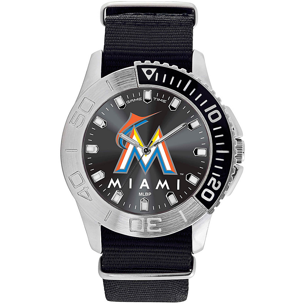 Game Time Mens Starter-MLB Watch Miami Marlins - Game Time Watches - Fashion Accessories, Watches