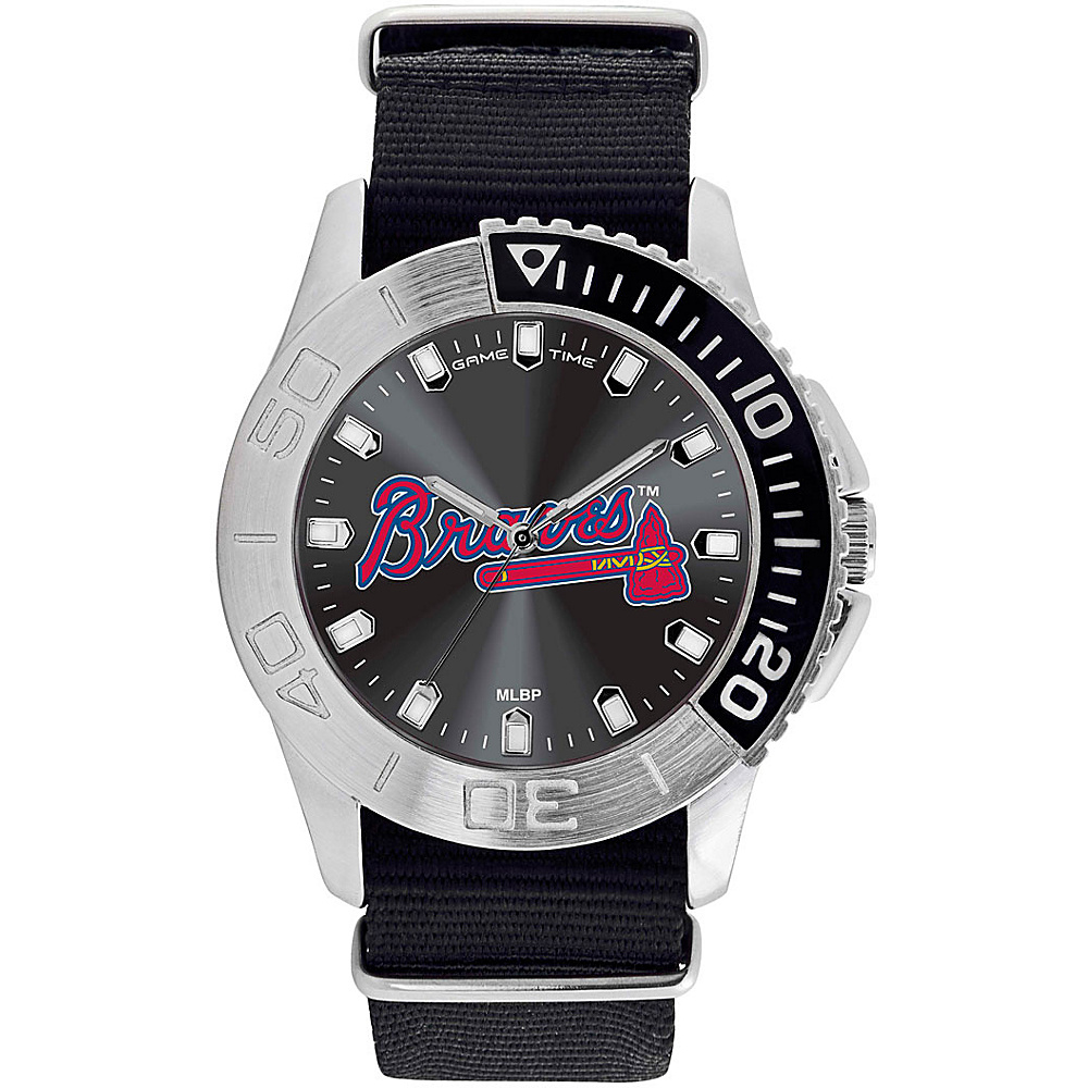 Game Time Mens Starter-MLB Watch Atlanta Braves - Game Time Watches - Fashion Accessories, Watches