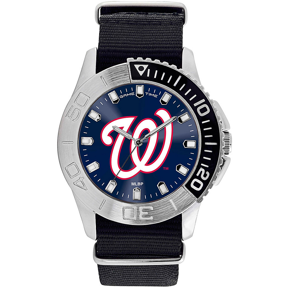 Game Time Mens Starter-MLB Watch Washington Nationals - Game Time Watches - Fashion Accessories, Watches