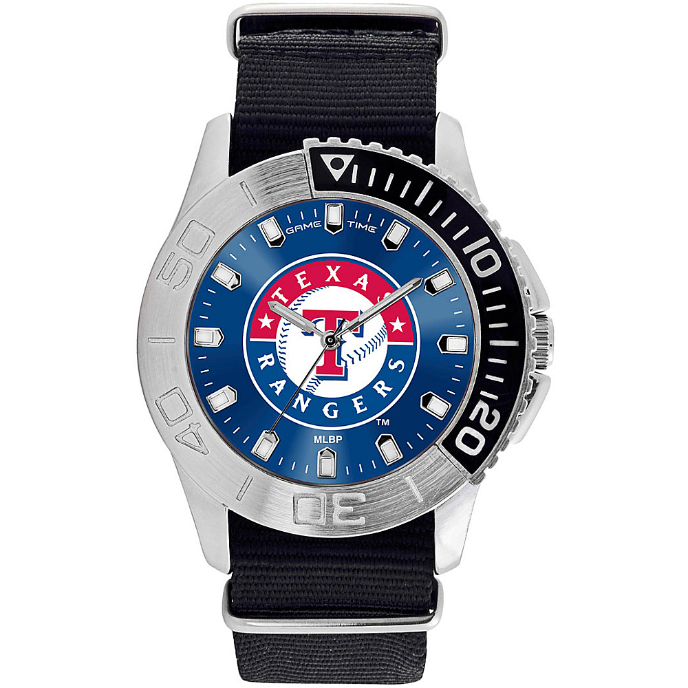 Game Time Mens Starter-MLB Watch Texas Rangers - Game Time Watches - Fashion Accessories, Watches