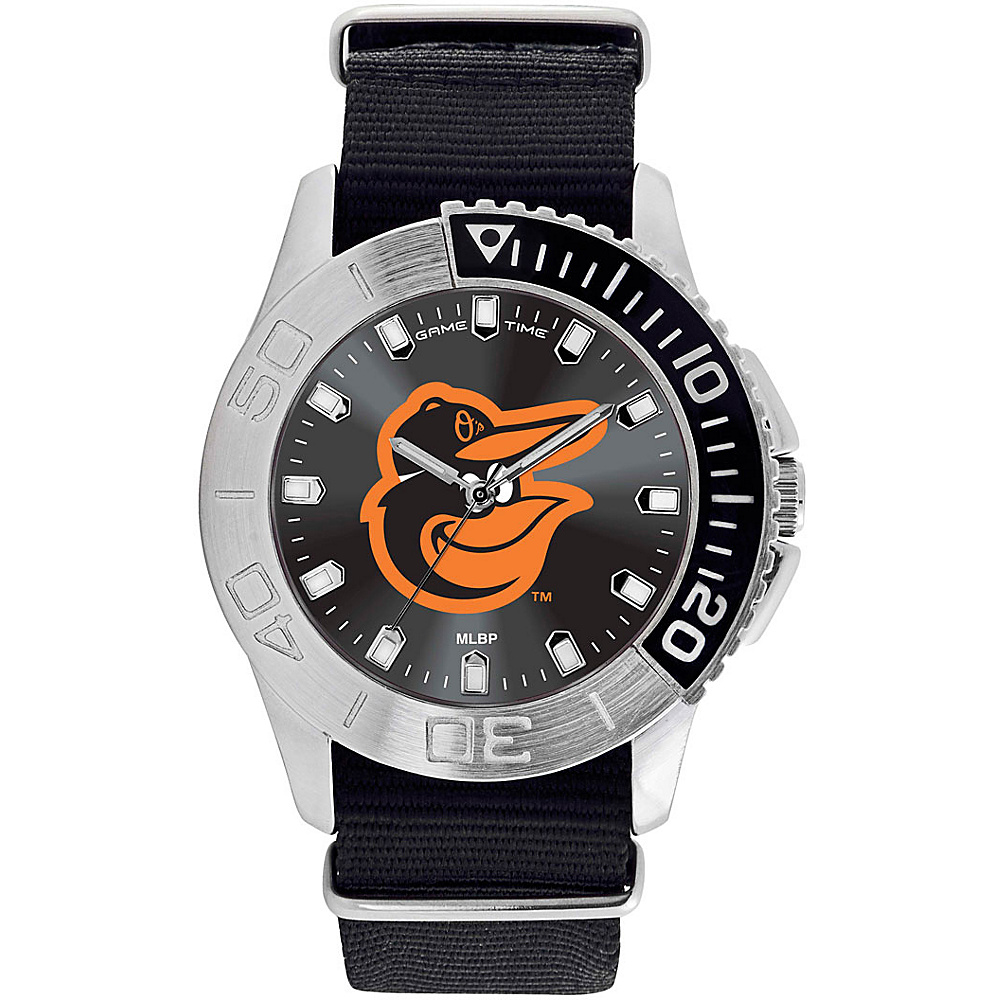 Game Time Mens Starter-MLB Watch Baltimore Orioles Bird Logo - Game Time Watches - Fashion Accessories, Watches