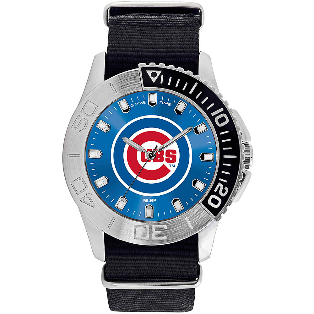 Game Time Mens Starter-MLB Watch Chicago Cubs - Game Time Watches - Fashion Accessories, Watches