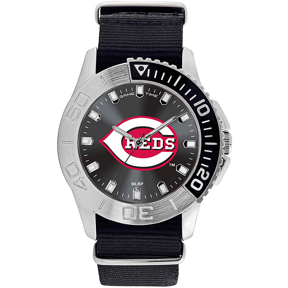 Game Time Mens Starter-MLB Watch Cincinnati Reds - Game Time Watches - Fashion Accessories, Watches