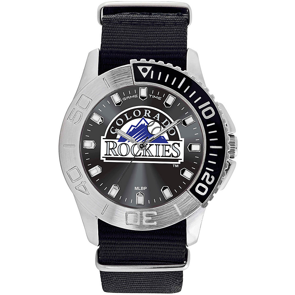 Game Time Mens Starter-MLB Watch Colorado Rockies - Game Time Watches - Fashion Accessories, Watches