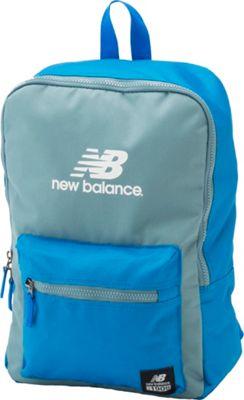 New Balance Booker Jr. Backpack Electric Blue - New Balance Everyday Backpacks