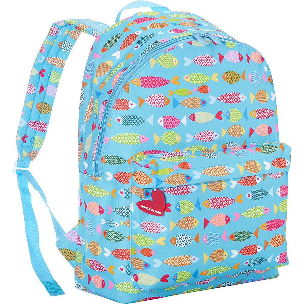 Miquelrius School Backpack Agatha Ruiz de la Prada Fish Miquelrius Everyday Backpacks