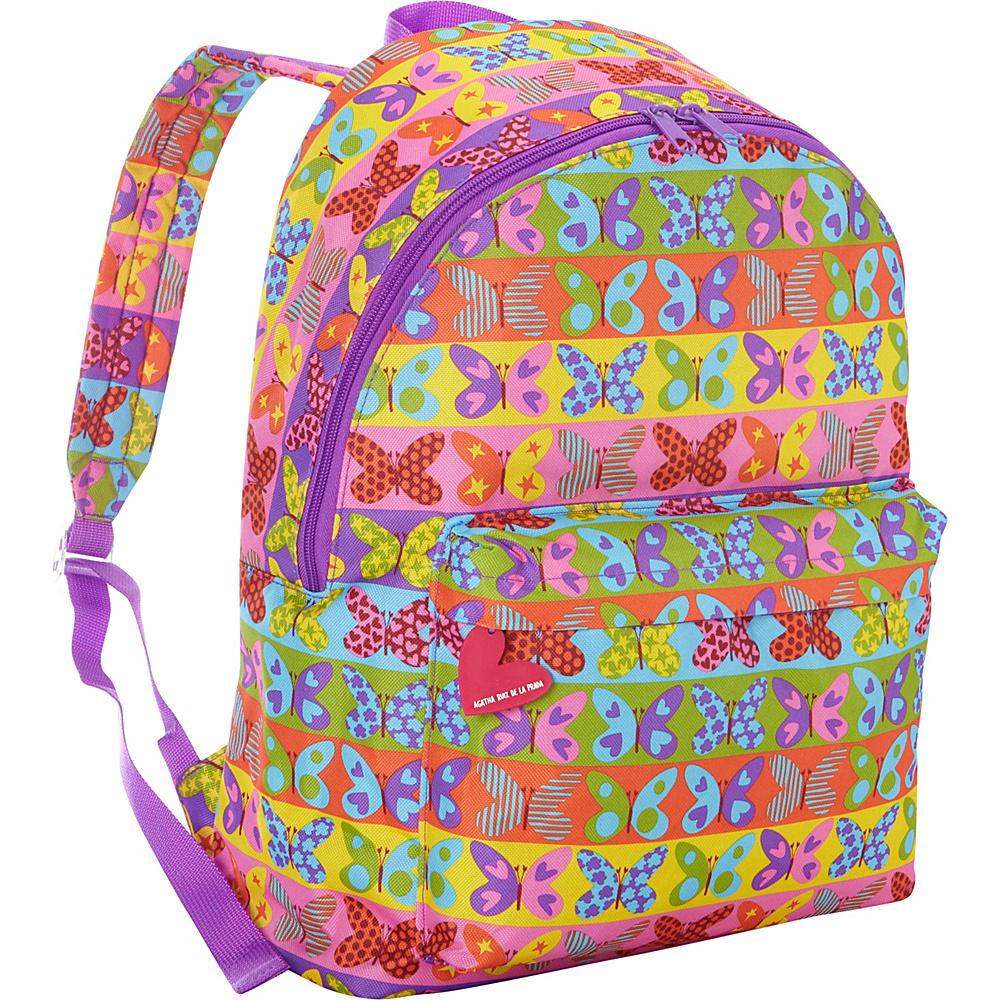 Miquelrius School Backpack Agatha Ruiz de la Prada Butterflies Miquelrius Everyday Backpacks